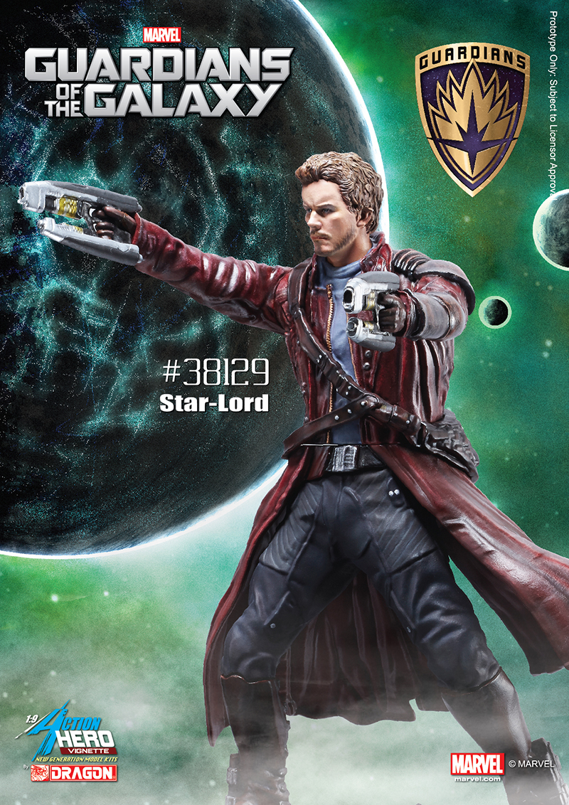 38129 - 1/9 Guardians of the Galaxy - Star Lord - Action