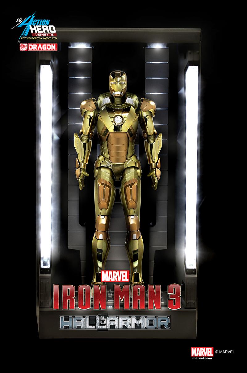 38136 19 Iron Man 3 Hall Of Armor Mkxxi Midas Multi Poseable