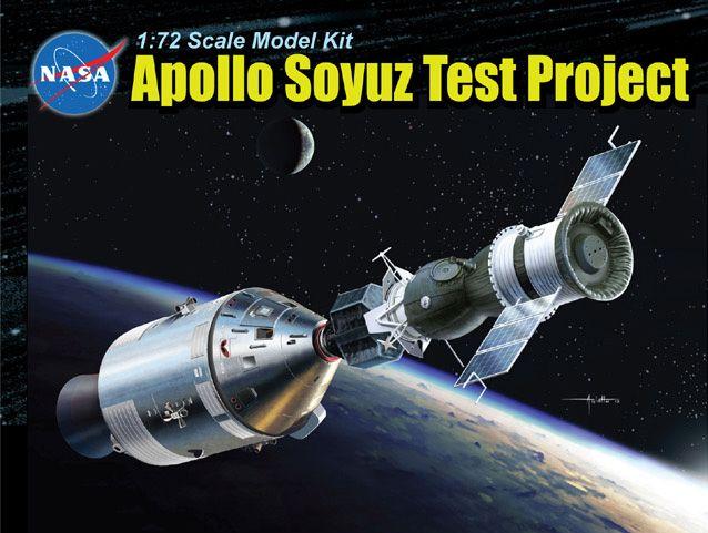 11012 - 1/72 Apollo Soyuz Test Project - Dragon Plastic ...