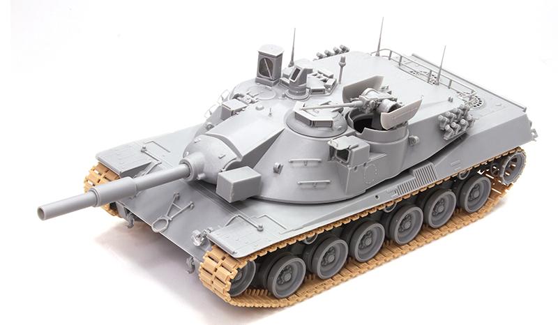 27aab502a105 3550 - 1 35 MBT 70 (KPz 70) - Dragon Plastic Model Kits