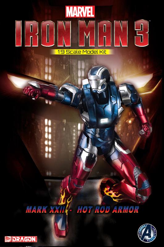 38327 - 1/9 Iron Man 3 - Mark XVII - Heartbreaker Armor