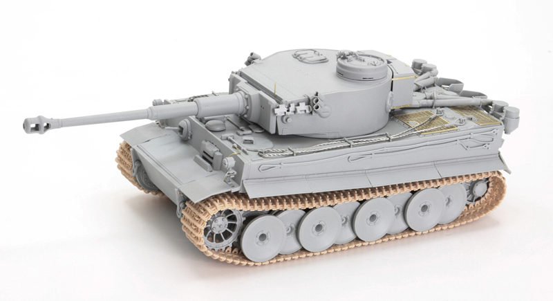 1942-43 1:35 E Ausf Tunisian Intial Dragon 6608 Tiger I