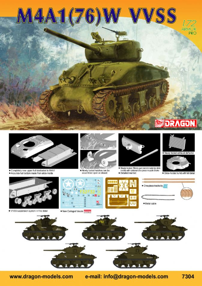 7304 1 72 M4a1 76 W Vvss Dragon Plastic Model Kits