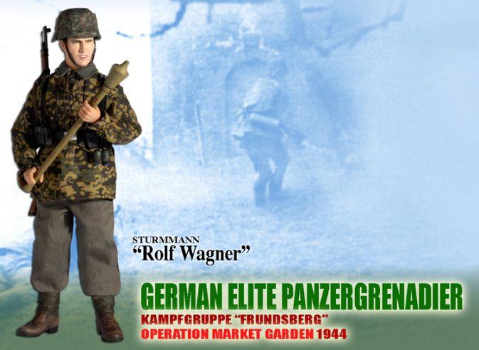 Camo Smock Dragon German Action Figures 1//6 Scale Walter Schmidt
