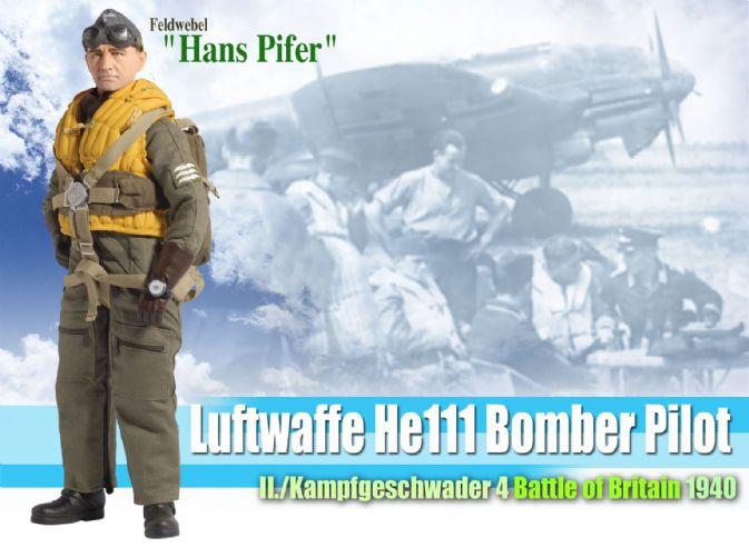 Hans Pifer DRAGON 1//6 WWII German Luftwaffe Flight Suit