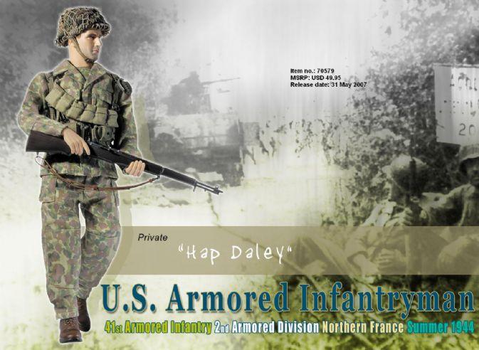 70579 quothap daleyquot us armored infantryman 41st
