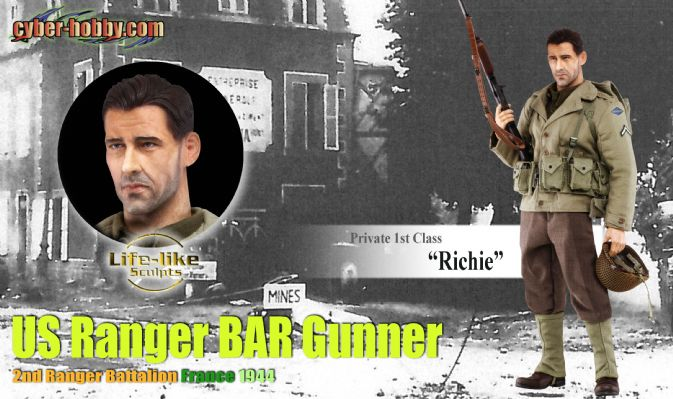 73154 private 1st class richie us ranger bar gunner for Food bar saving private ryan