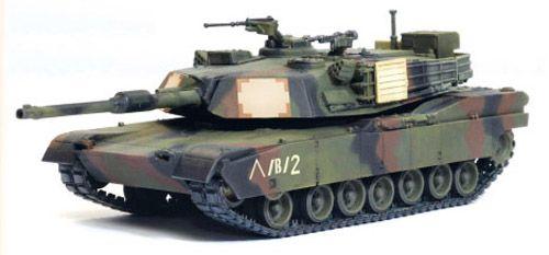 Assembled 707600006325 1//144 M1A1 USMC Gulf War Tank w//TWMP