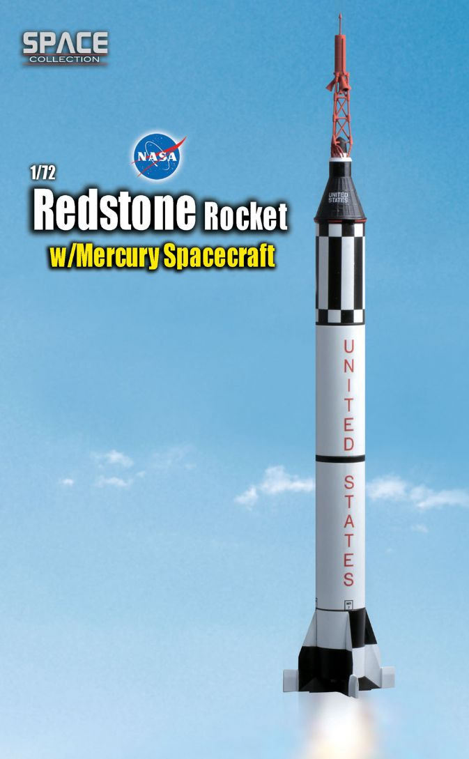 50403 - Redstone Rocket w/Mercury Spacecraft - Dragon ...